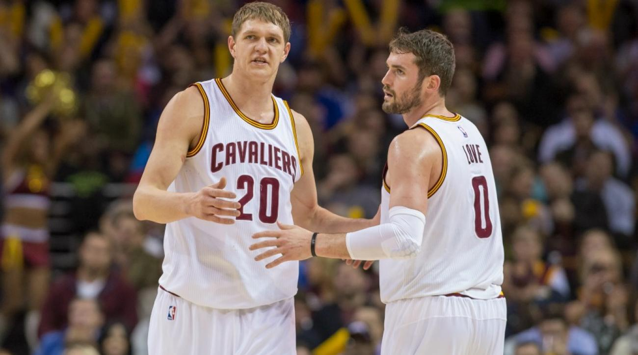 Lil' Kev is joining Timofey Mozgov on the Lakers