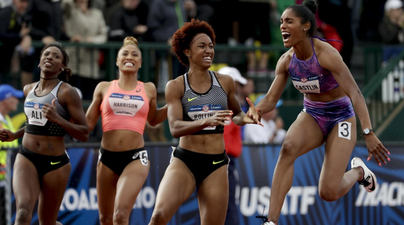 Meet the athletes on the 2016 U.S. Olympic Track and Field team