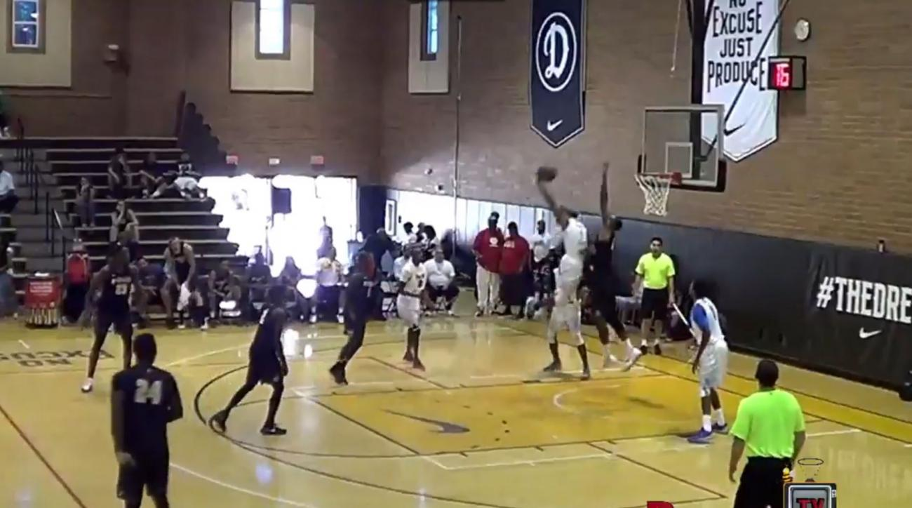 drew league dunk