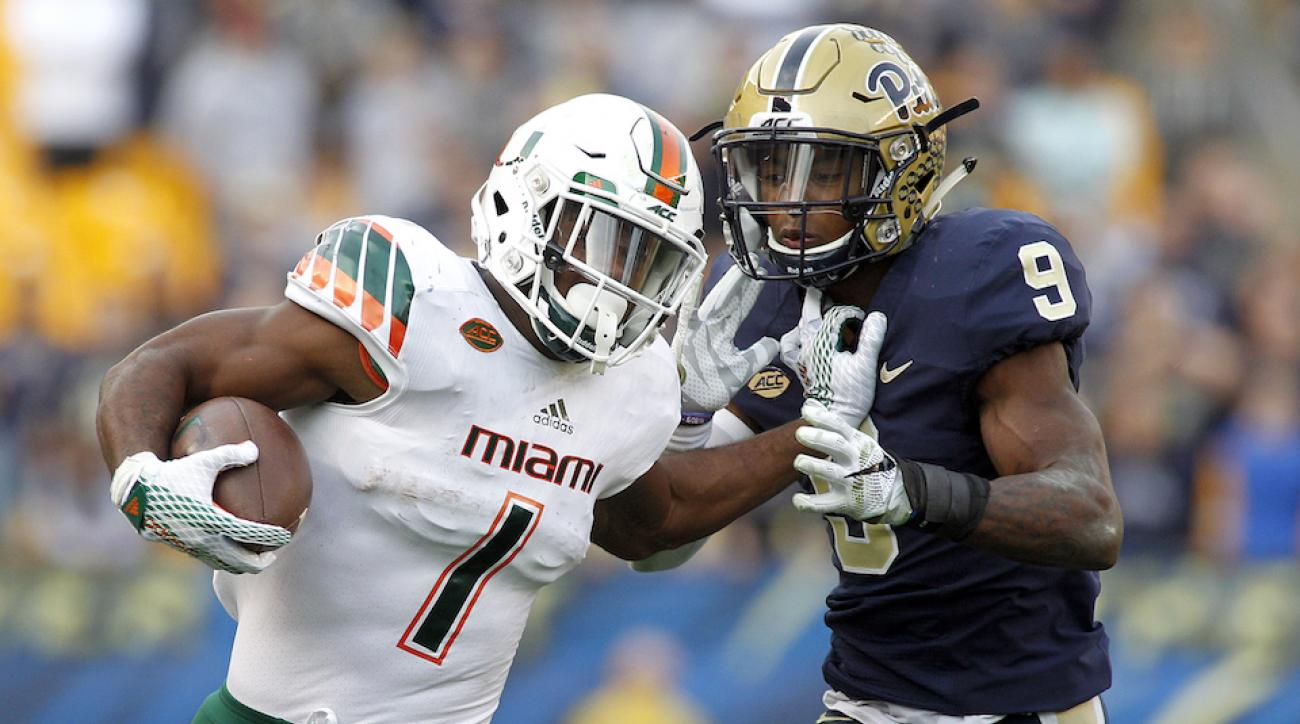 miami hurricanes reinstate mark walton
