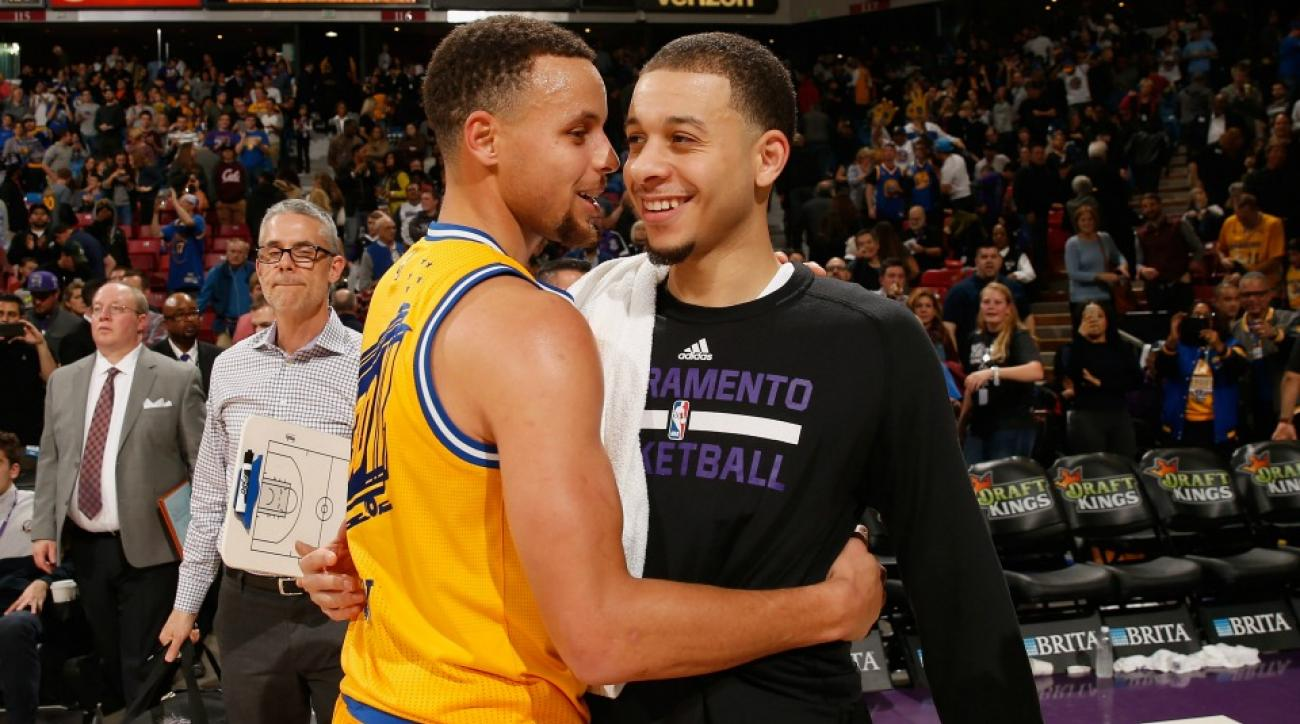 Stephen Curry promotes Seth Curry's basketball camp