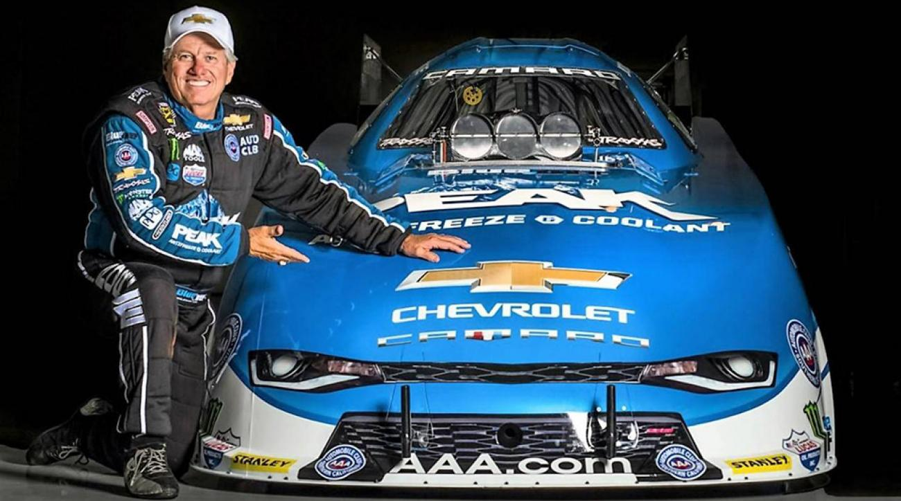 the drive john force