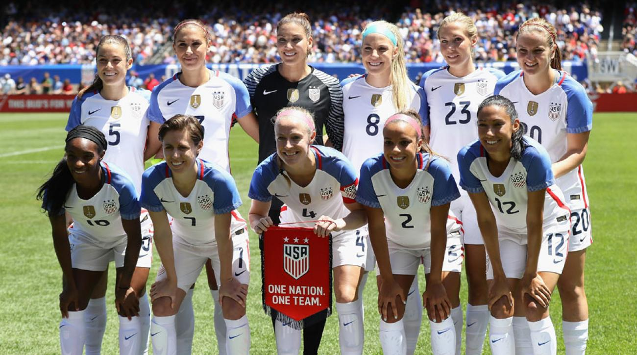 Womens Olympic soccer USA seeks unprecedented gold SIcom