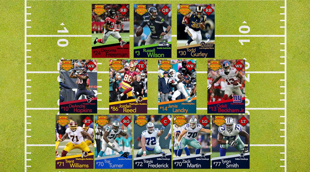 NFL five-year dynasty: Russell Wilson, Odell Beckham Jr. deserve spot on future superteam