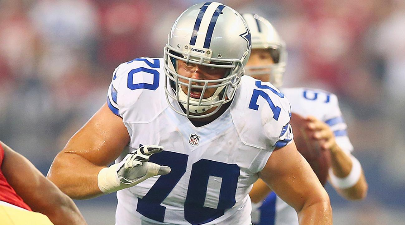 Zack Martin injury updates Cowboys RG out with head injury