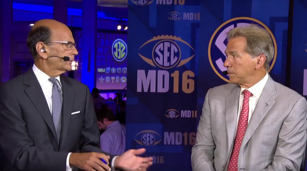 nick saban paul finebaum argue video