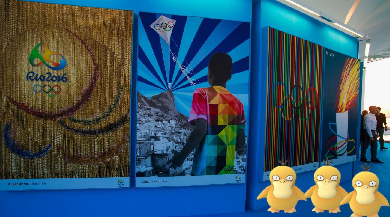 rio olympics pokemon go mayor