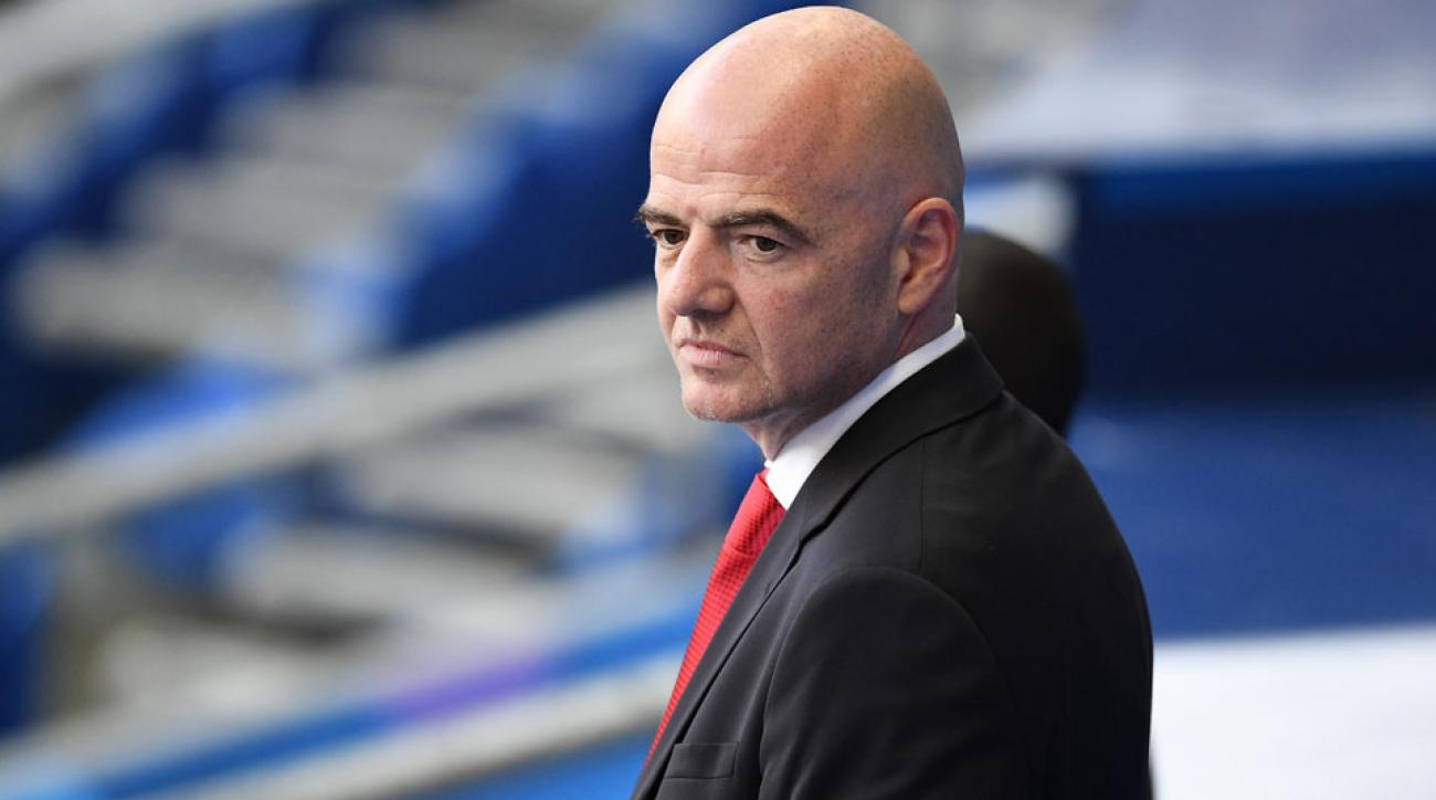 gianni infantino fifa questioning ethics committee