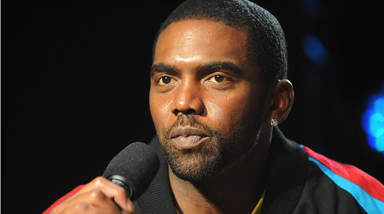 After Randy Moss put down the football, he picked up a microphone and is now an NFL analyst on TV.