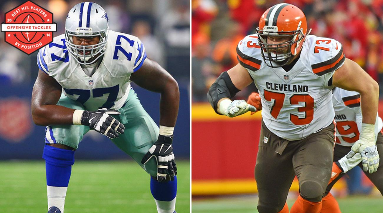 Ranking the NFL's best offensive tackles