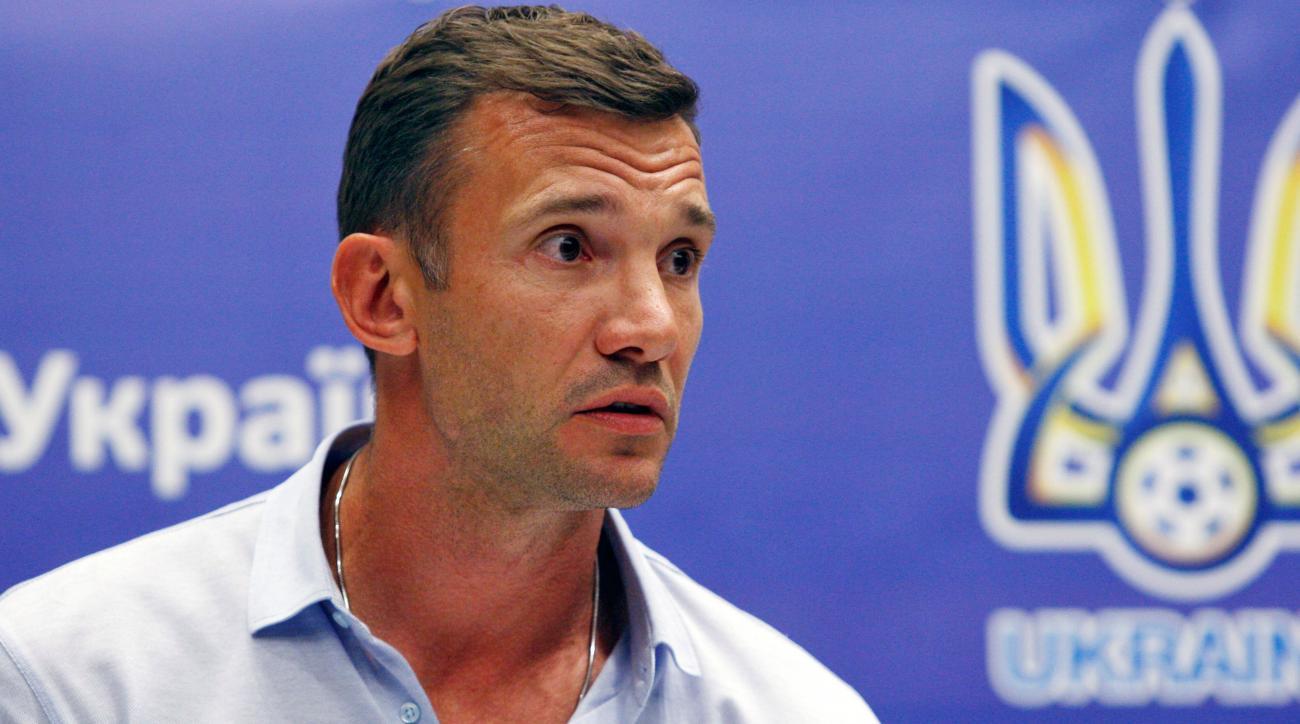 andriy shevchenko ukraine manager