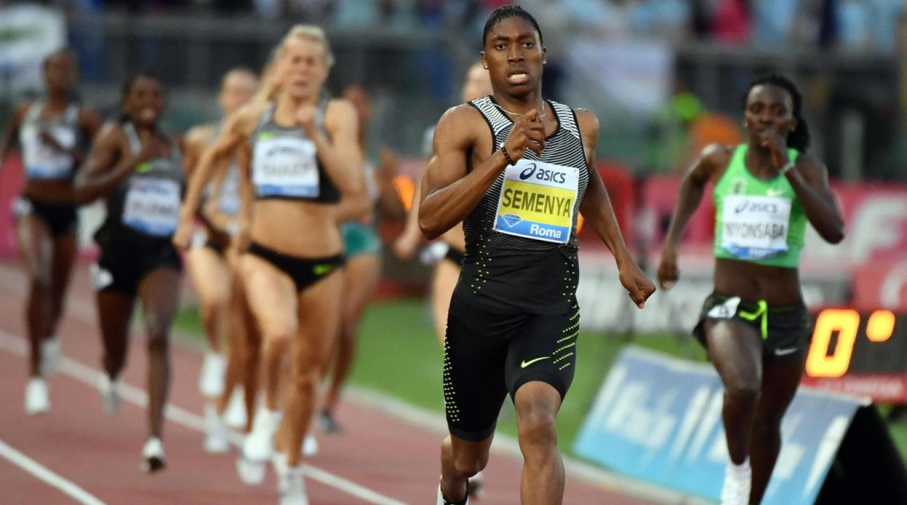 caster semenya monaco 800 video
