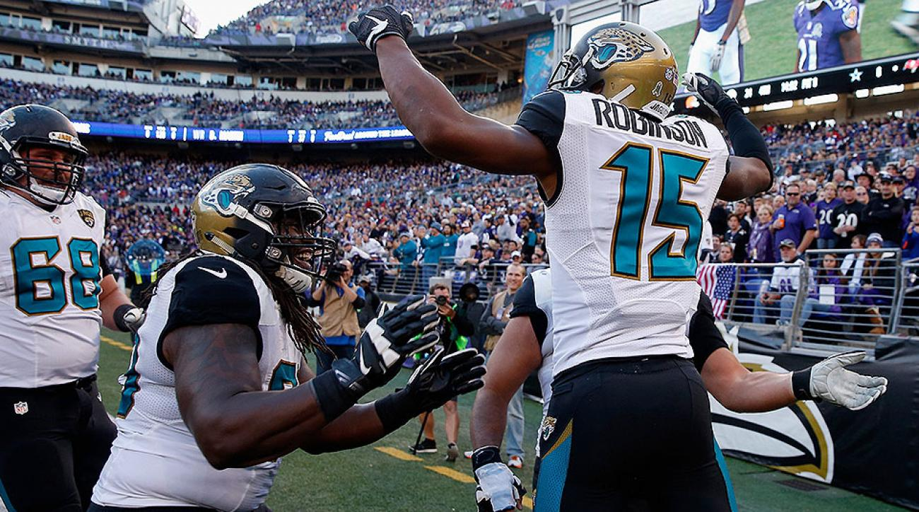 Blake Bortles, Allen Robinson, Allen Hurns reward Jaguars' NFL draft strategy