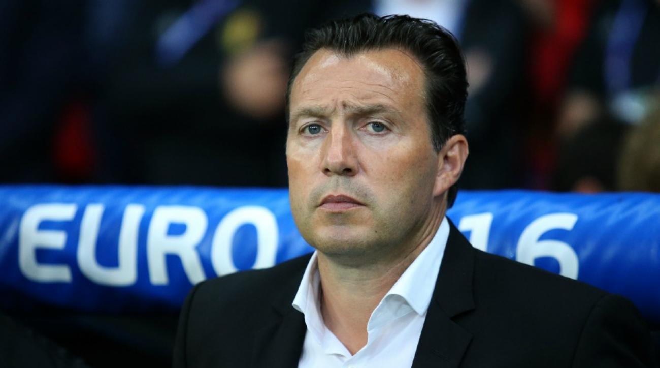 Marc Wimots fired as head coach of Belgium
