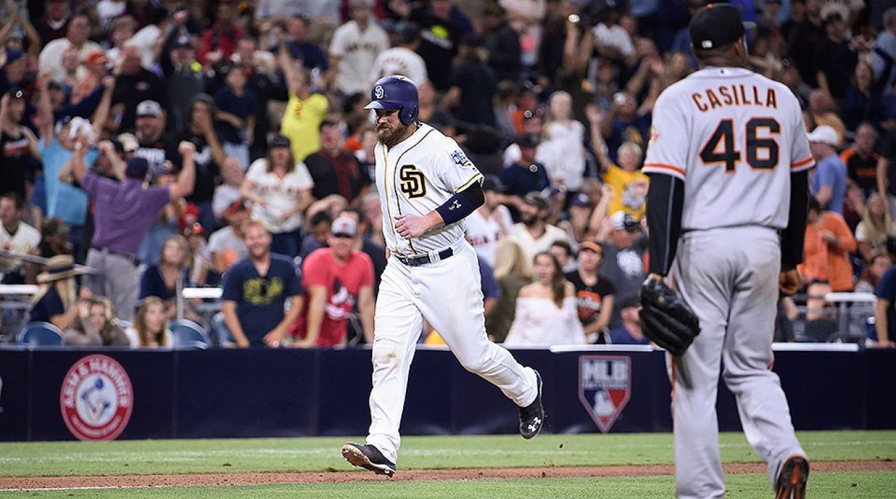 San Diego Padres Derek Norris