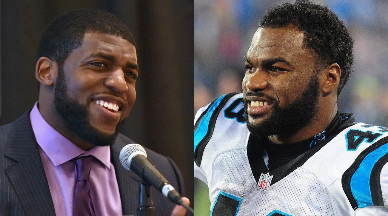 Emmanuel Acho and Fozzy Whittaker.