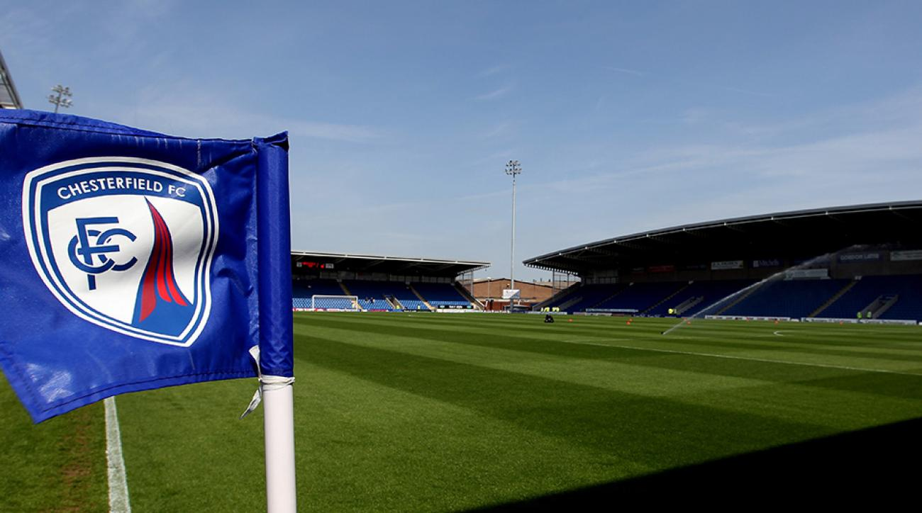 chesterfield fc raffle fake apology