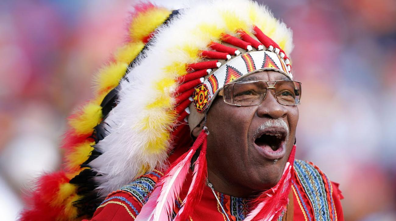 chief zee redskins fan dies