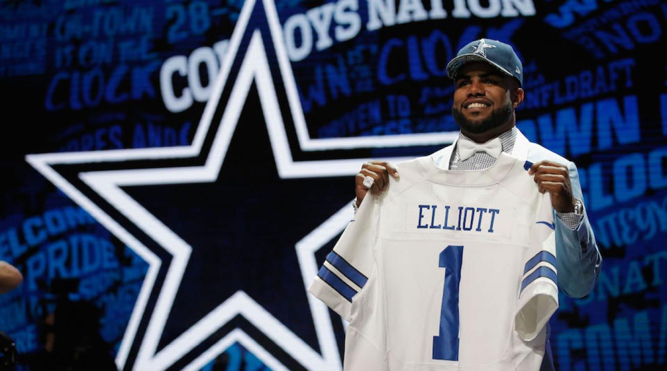 ezekiel elliott dallas cowboys best selling jersey