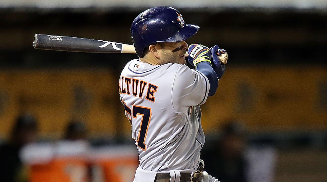 Houston Astros Jose Altuve