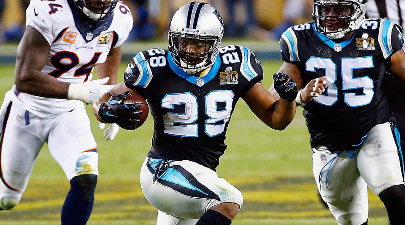 Jonathan Stewart, Carolina Panthers