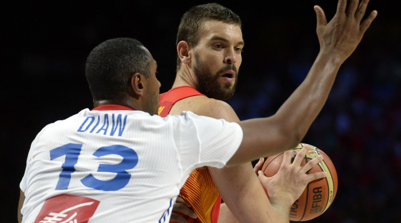 marc gasol spain out olympics