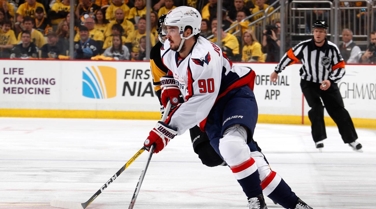 Washington Capitals sign Marcus Johansson