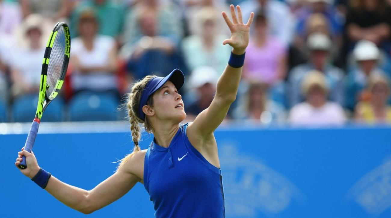 Eugenie Bouchard has an opinion on the Taylor Swift Kanye West battle