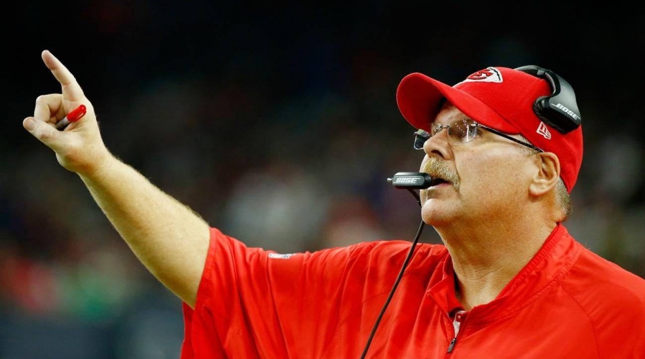 Kansas City Chiefs Andy Reid will probably not rap with lil dicky