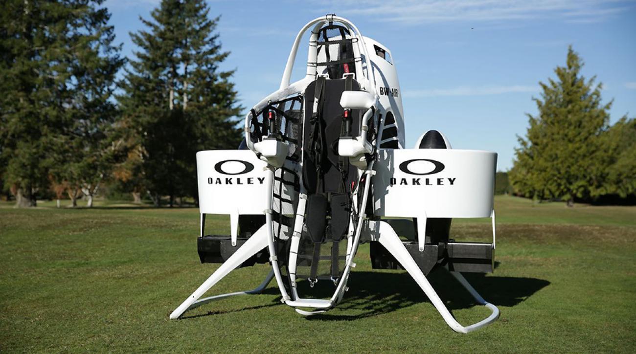 Bubba Watson's golfcart jetpack