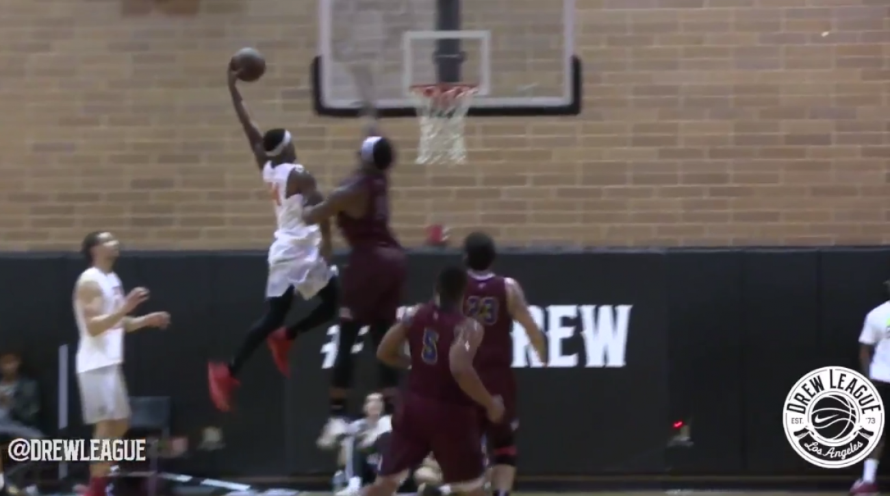 andre drummond dunked on drew league