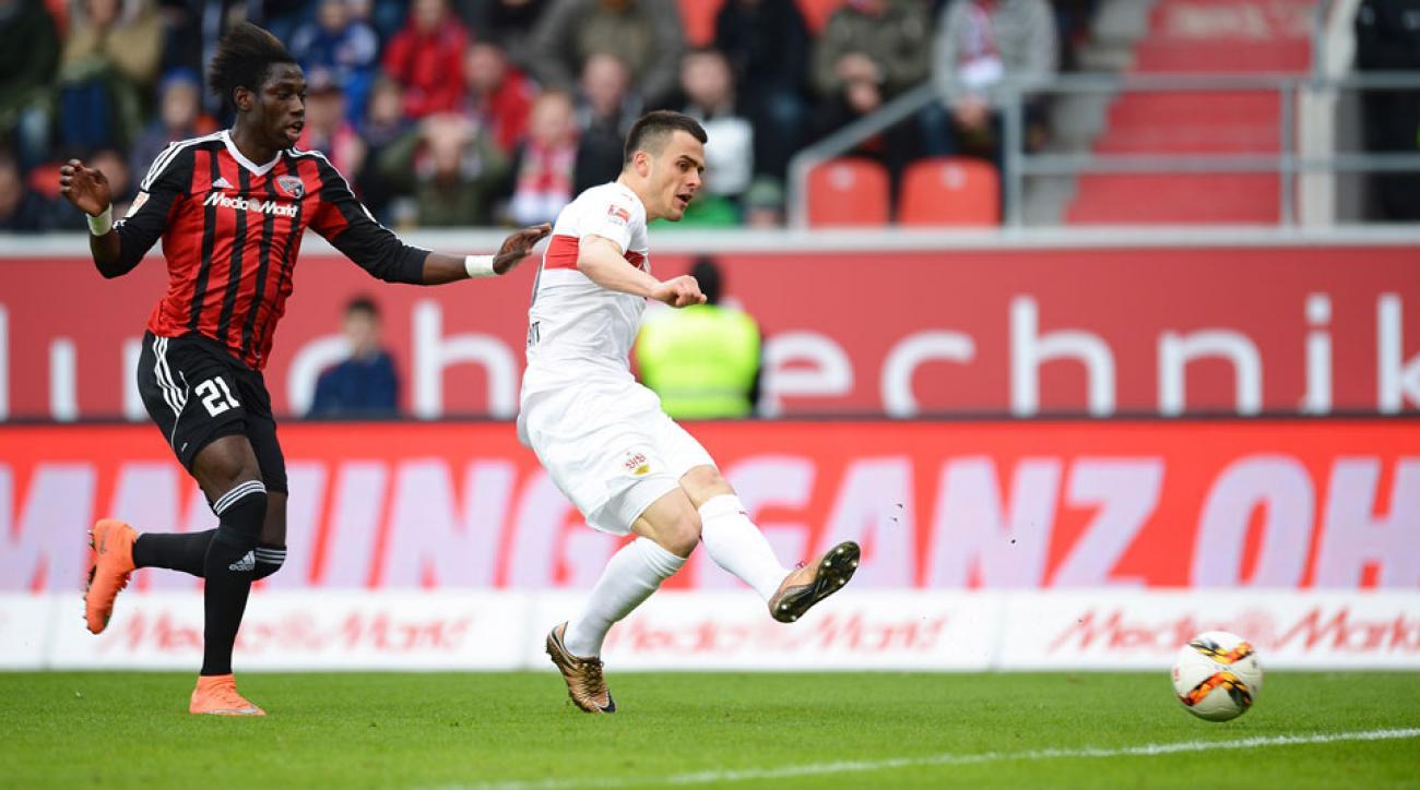 Filip Kostic signs with Hamburg from Stuttgart