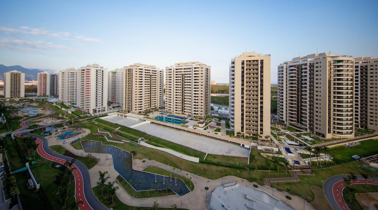 rio olympics athlete village unfinished