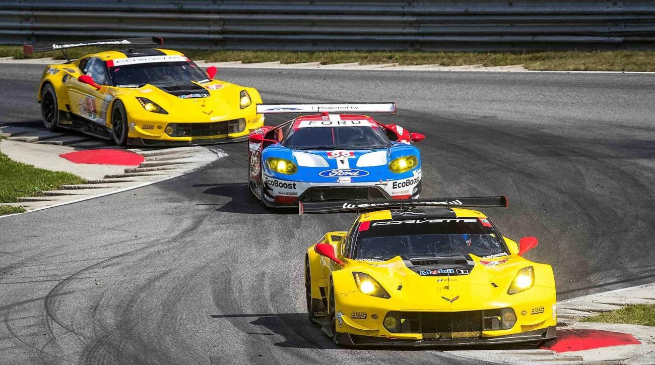 the drive corvette 100th win