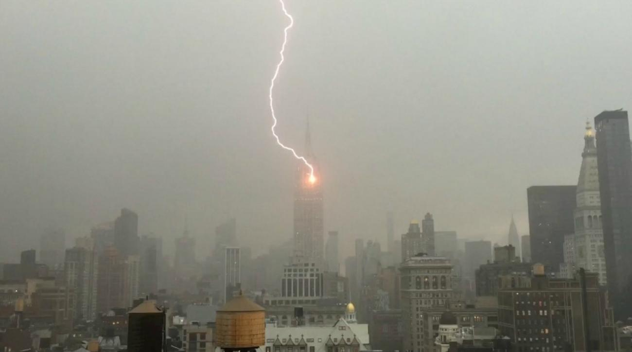 Noah Syndergaard is not responsible for the Empire State Building lightning strike