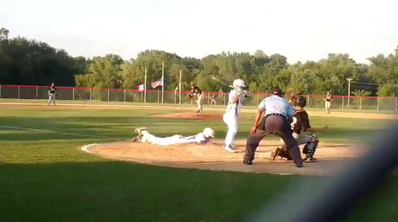 high school player steals home video