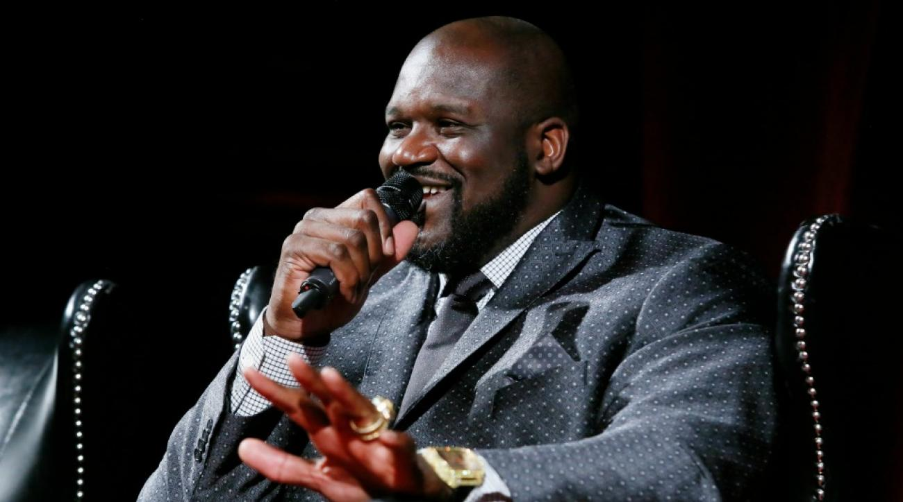 Shaq had a DJ set at the Tomorrowland Festival in Belgium