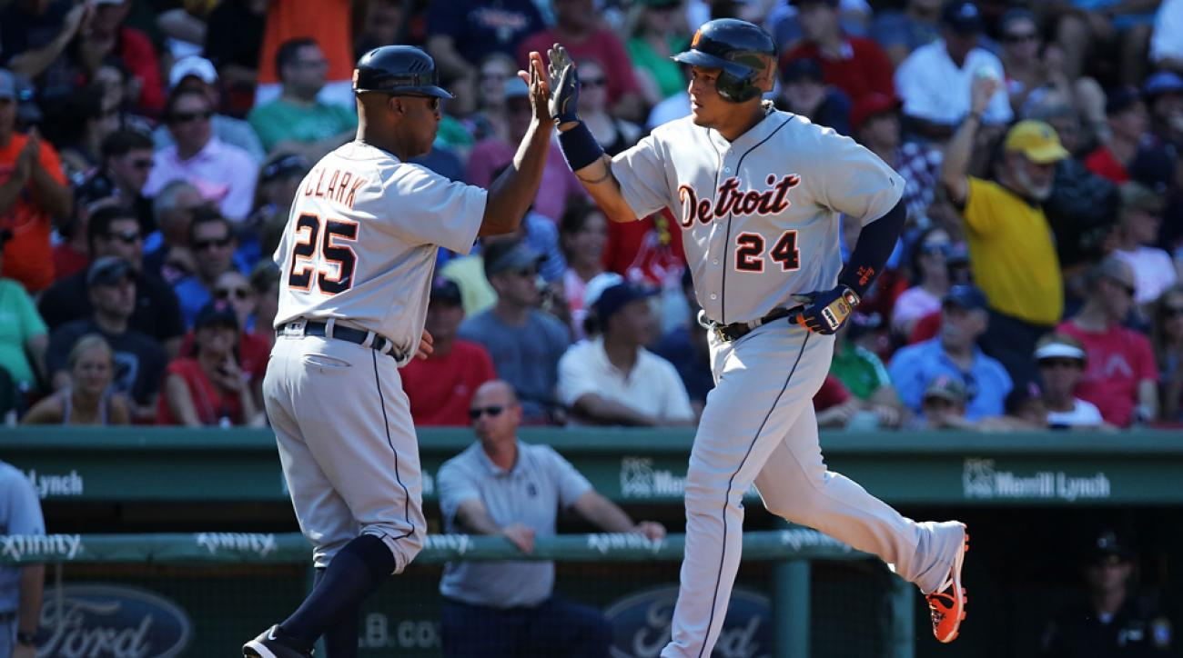 miguel cabrera game winning home run red sox