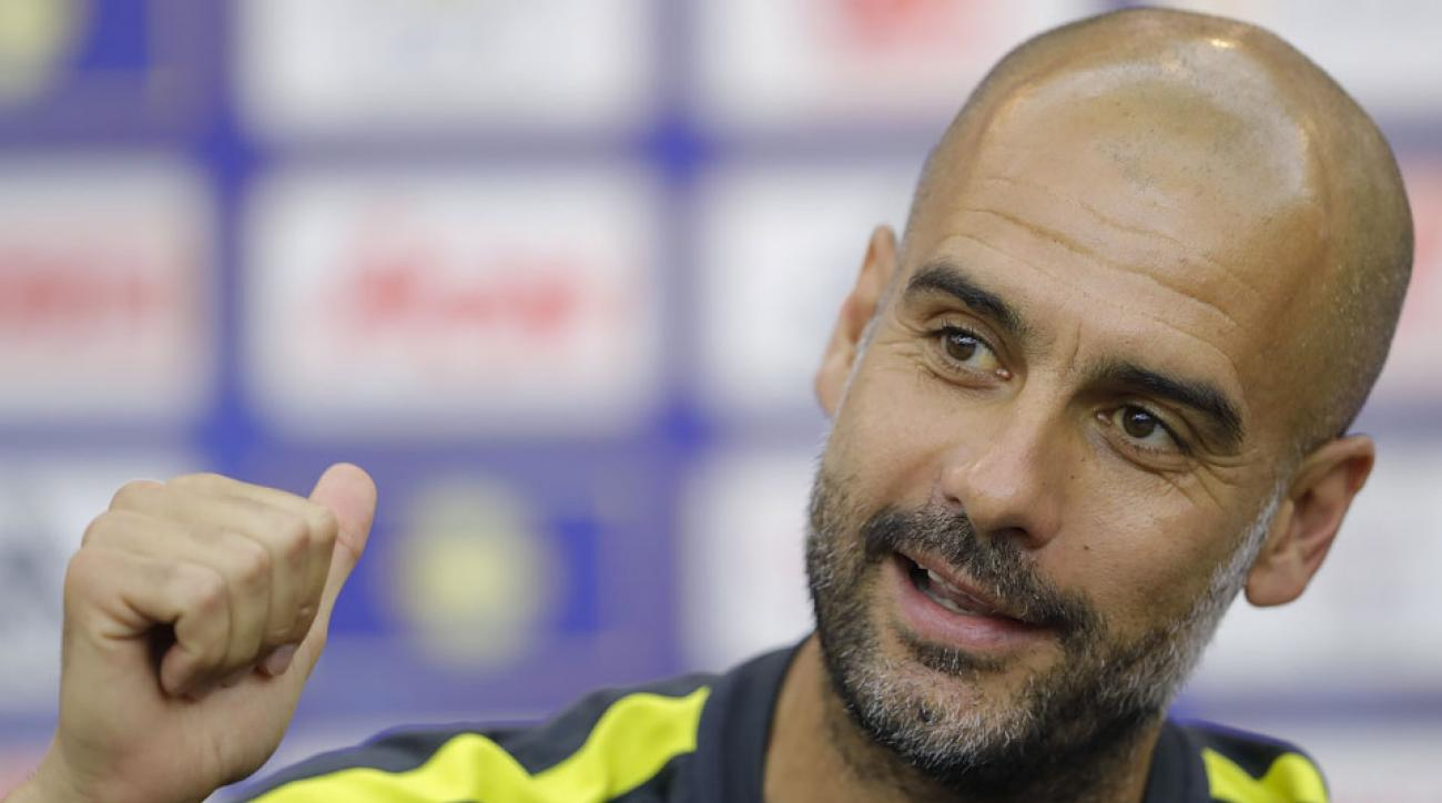 Pep Guardiola has banned pizza and junk food from Manchester City players