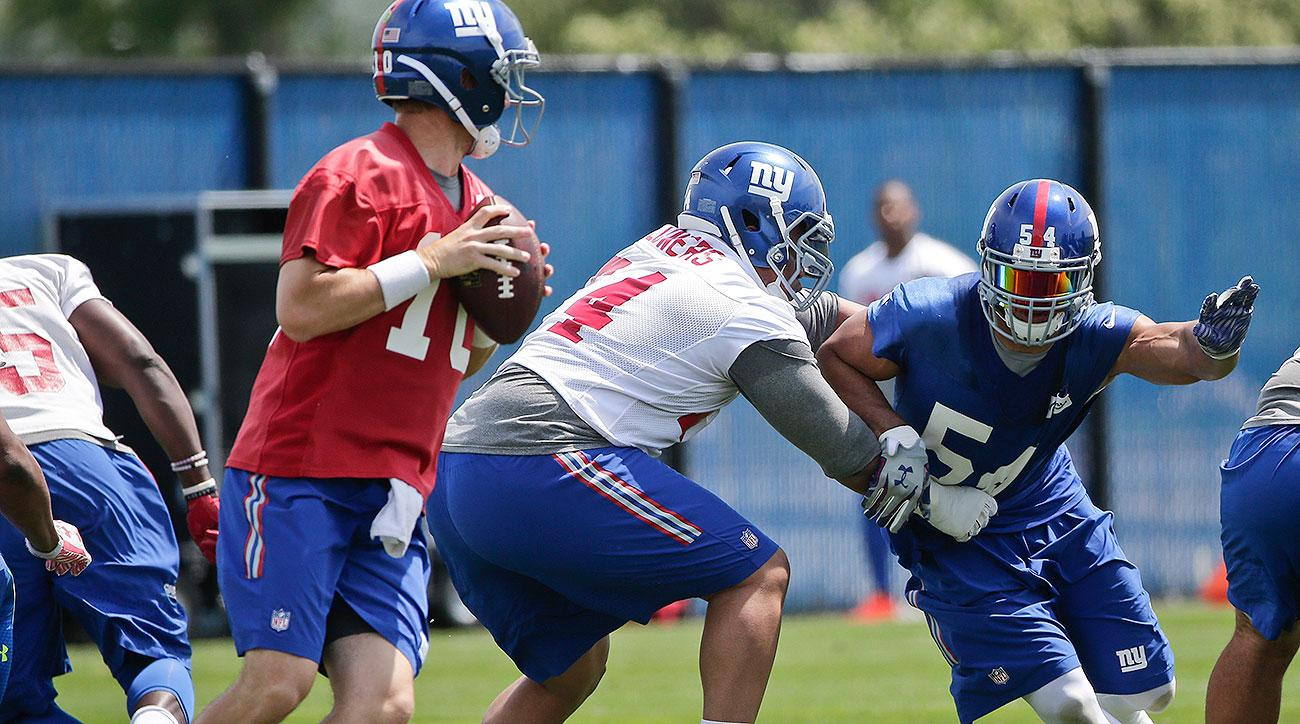 New York Giants training camp: Preseason schedule, depth charts, position battles