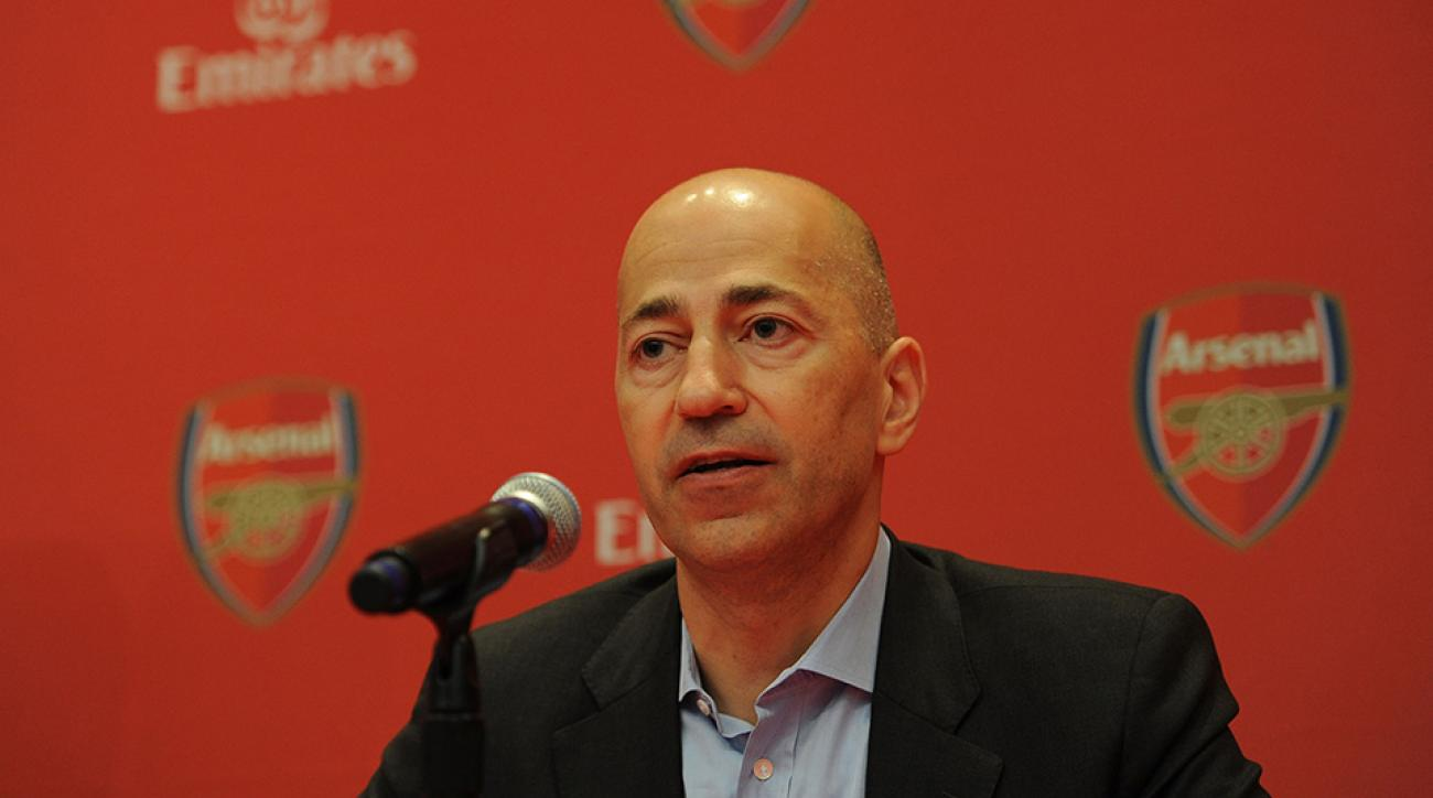 ivan gazidis arsenal money transfer window spend cash reserves