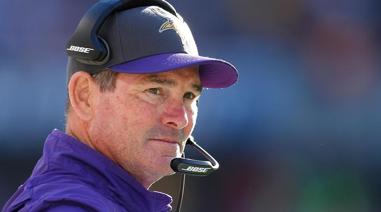 mike zimmer vikings contract extension