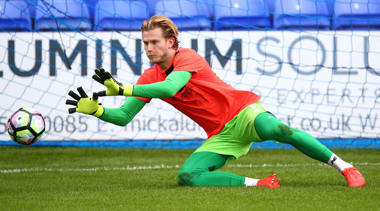 Liverpool's Loris Karius is out with a broken hand
