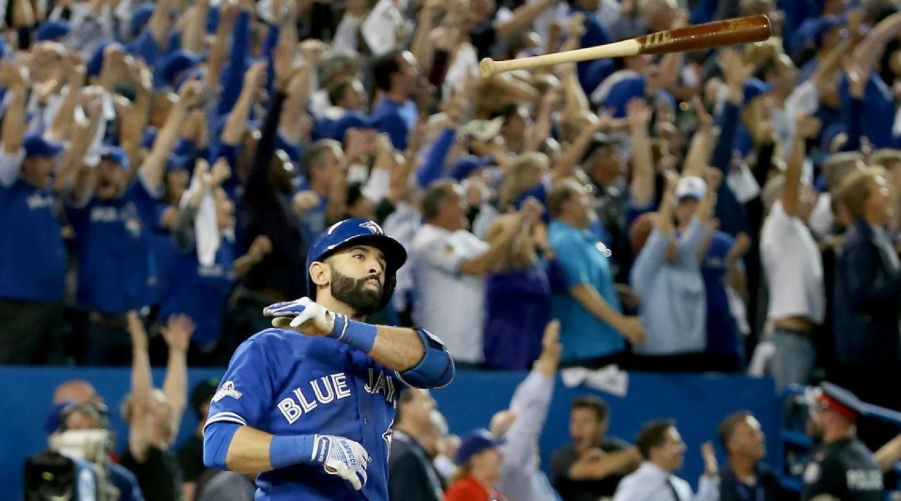 Jose Bautista's bat flip will appear in NHL 17