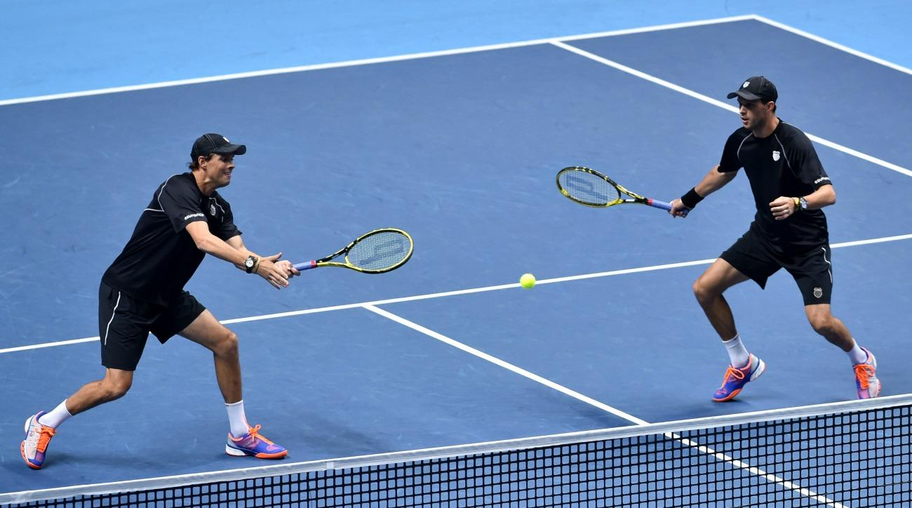 Bryan Brothers withdraw from Olympics