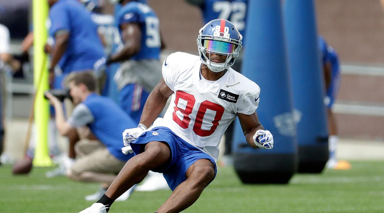 new york giants training camp mcadooo victor cruz