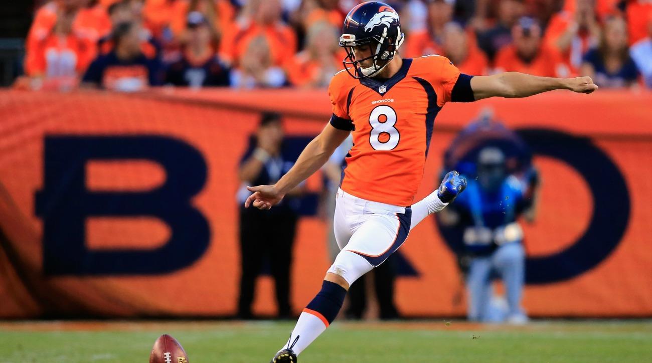 Broncos K Brandon McManus broke a fans wrist with errant field goal kick