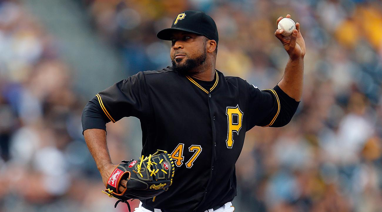 Pittsburgh Pirates Francisco Liriano