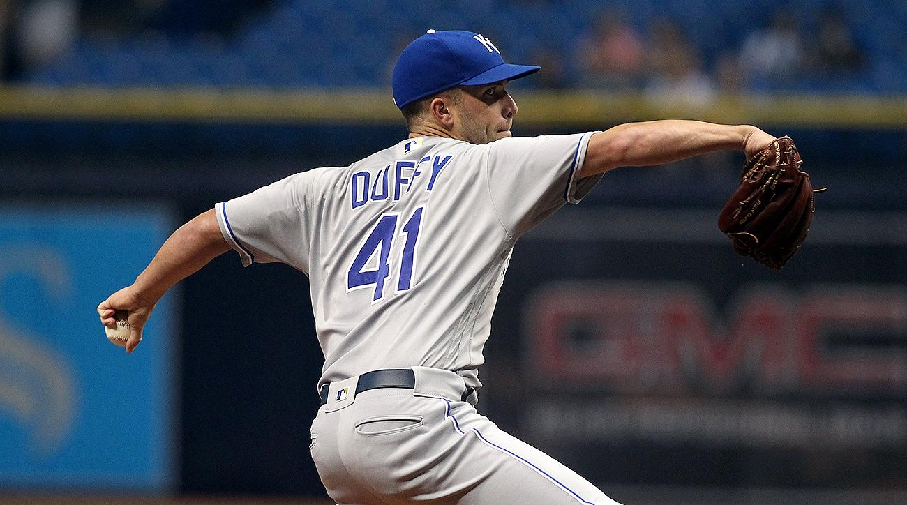 Kansas City Royals Danny Duffy
