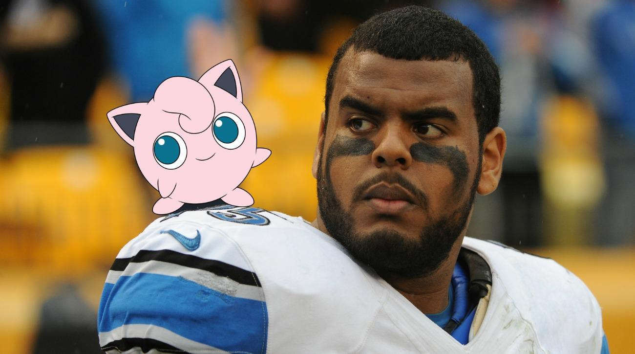 Detroit Lions' Larry Warford thinks Pokemon Go is a form of mind control
